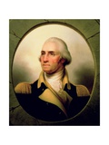 Portrait of George Washington, 1853 Giclee Print by Rembrandt Peale