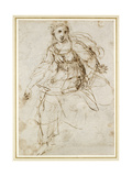 Allegorical Figure of Theology Giclee Print by  Raphael