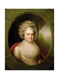 Portrait of Martha Washington Giclee Print by Rembrandt Peale