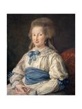 Princess Cecilia Mahony Giustiniani, 1785 Giclée-tryk af Pompeo Girolamo Batoni
