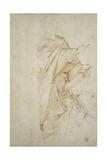 Study for the Figure Virgil Reproduction procédé giclée par  Raphael