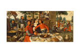 Peasant's Feast, 1550 Giclee Print by Pieter Aertsen