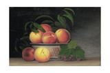 Still-Life with Peaches, C.1816 Giclee Print by Raphaelle Peale