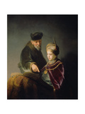 A Young Scholar and His Tutor, C. 1629-30 Giclee Print by  Rembrandt van Rijn