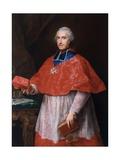 Portrait of Jean-François-Joseph Rochechouart, 1762 Giclee Print by Pompeo Girolamo Batoni
