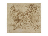The Lamentation Giclee Print by  Raphael