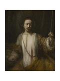 Lucretia, 1666 Giclee Print by  Rembrandt van Rijn