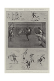 The Oxford and Cambridge Association Football Match, 22 February Giclee Print by Ralph Cleaver
