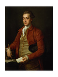 Portrait of the Hon. Lionel Damer Giclée-tryk af Pompeo Girolamo Batoni