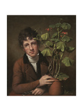 Rubens Peale with a Geranium, 1801 Giclee Print by Rembrandt Peale