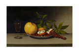 Still Life with Fruit, Cakes and Wine, 1821 Giclee Print by Raphaelle Peale