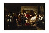 Honors Paid to Raphael after His Death, 1806 Giclee Print by Pierre-nolasque Bergeret