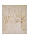 Le Couronnement de la Vierge Impression giclée par  Raphael