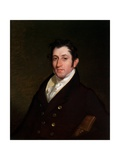 Colonel Mendes Cohen, C.1838 Giclee Print by Rembrandt Peale
