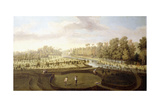 A View of Chiswick Gardens, Richmond, from across the New Gardens Towards the Bagnio, C.1729-31 Giclee Print by Pieter Andreas Rysbrack