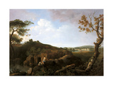 The Alban Hills Giclee Print by Richard Wilson