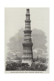 The Kotub Minar, Near Delhi Giclee Print by Richard Principal Leitch