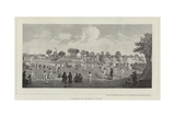 Cricket at Moulsey Hurst Giclee Print by Richard Westall