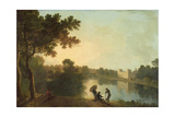 South East View of Wilton from across the River Giclee Print by Richard Wilson