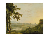 Rome from the Villa Madama, During or Post 1753 Giclee Print by Richard Wilson