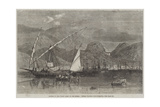 Patras, on the North Coast of the Morea, Vessels Waiting for Currants Giclee Print by Richard Principal Leitch