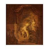Biblical Scene Giclee Print by  Rembrandt van Rijn