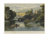 The Queen's Visit to Warwickshire, Warwick Castle Giclee Print by Richard Principal Leitch