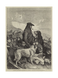 Scotch Gamekeeper Giclee Print by Richard Ansdell