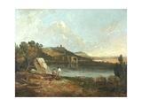 Italian Lake Scene Giclee Print by Richard Wilson