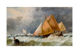 Fishing Boats, Brighton Giclee Print by Richard Beavis