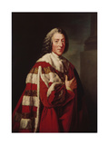 William Pitt, 1st Earl of Chatham, 1772 Giclee Print by Richard Brompton