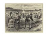 The Westward Ho! Ladies' Golf Club at Bideford, Devon Giclee Print by Ralph Cleaver