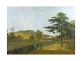 Wilton, Inigo Jones Stables, Temple Copse and Sir William Chambers' Arch Giclee Print by Richard Wilson