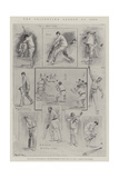 The Cricketing Season of 1901 Giclee Print by Ralph Cleaver
