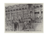 Her Majesty's Judges at St Paul's Cathedral on Sunday, 4 June Giclee Print by Ralph Cleaver