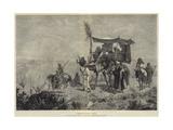 Pilgrims En Route to Mecca Giclee Print by Richard Beavis