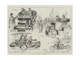 The Second Annual Meet of the Motor Car Club Giclee Print by Ralph Cleaver