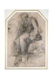 A Male Saint Impression giclée par  Raphael