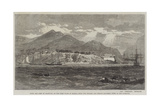 Town and Fort of Acapulco Giclee Print by Richard Principal Leitch