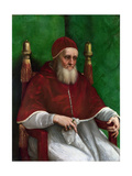 Portrait of Pope Julius II, 1511 Impression giclée par  Raphael