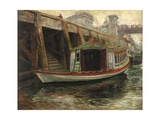 Sketch for 'The Lord Mayor's Barge', 1891 Giclee Print by Ralph Hedley