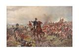 Wellington at Waterloo Giclee Print by Robert Alexander Hillingford