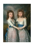 The Stryker Sisters, 1787 Giclee Print by Ralph Earl
