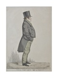 Isaac Lyon Goldsmid, Will You Let Me a Loan, 1824 Giclee Print by Richard Dighton
