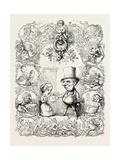 St. Valentine's Day, 1851 Lámina giclée por Richard Doyle