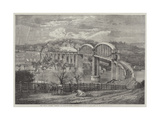 Thr Royal Albert Viaduct at Saltash Giclee Print by Richard Principal Leitch