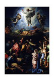 The Transfiguration of Christ, 1516-1520 Reproduction procédé giclée par  Raphael