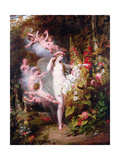 Flora Unveiled by Zephyrs, 1807 Giclee Print by Richard Westall