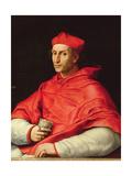Portrait of Cardinal Dovizzi De Bibbiena (1470-1520) Giclee Print by  Raphael