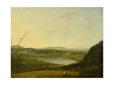 The Lago Di Agnano, C.1752 Giclee Print by Richard Wilson